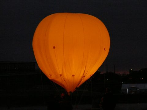Kirchentag balloon
